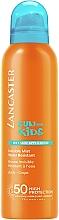 Perfumería y cosmética Bruma protectora solar para niños, resistente al agua SPF 50 - Lancaster Sun Kids Alcohol Free Mist SPF50 Sun Spray