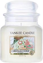 Perfumería y cosmética Vela aromática en tarro, galleta de navidad - Yankee Candle Christmas Cookie