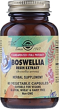 Perfumería y cosmética Complemento alimenticio en cápsulas extracto de resina de boswellia - Solgar Boswellia Resin Extract Herbal Supplement
