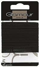 Perfumería y cosmética Gomas de pelo, 414933, negras - Glamour