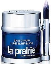 Perfumería y cosmética Mascarilla de noche reafirmante efecto tensor con extracto de caviar + brocha aplicadora - La Prairie Skin Caviar Luxe Sleep Mask