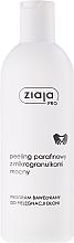 Perfumería y cosmética Exfoliante de manos de parafina con microgránulos y aceite de semilla de algodón - Ziaja Pro Paraffin Scrub