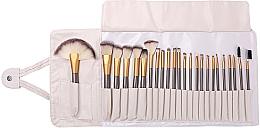 Perfumería y cosmética Set brochas y pinceles de maquillaje en funda, 24uds. - Lewer