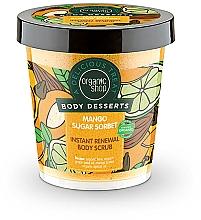 Perfumería y cosmética Exfoliante corporal de renovación instantánea con mango - Organic Shop Body Desserts Mango Sugar Sorbet
