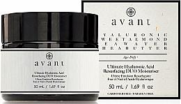 Perfumería y cosmética Crema de día hidratante con ácido hialurónico - Avant Skincare Ultimate Hyaluronic Acid Resurfacing Duo Moisturiser
