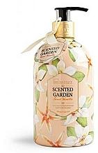 Perfumería y cosmética Jabón líquido con aroma a vainilla - IDC Institute Scented Garden Liquid Soap Vanilla