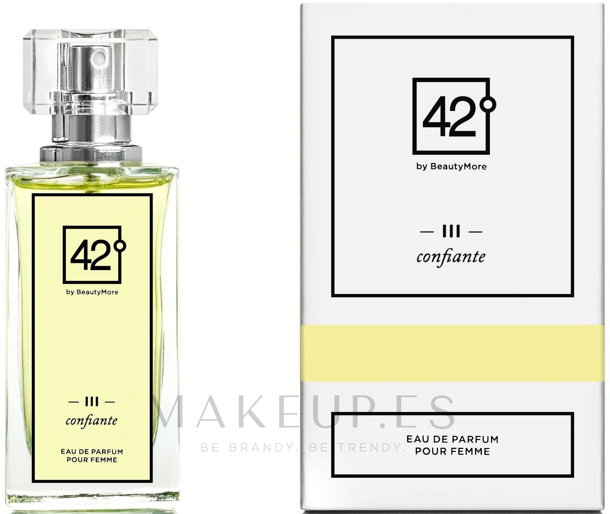 42° by Beauty More III Confiante - Eau de parfum — imagen 50 ml