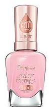 Perfumería y cosmética Esmalte de uñas con aceite de argán - Sally Hansen Color Therapy Sheer Nail Color