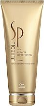 Perfumería y cosmética Crema acondicionadora de cabello con queratina, aceite de argán y macadamia - Wella SP Luxe Oil Keratin Conditioning Cream