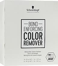 Perfumería y cosmética Removedor de color artificial del cabello - Schwarzkopf Professional Bond Enforcing Color Remover