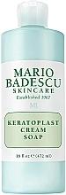 Perfumería y cosmética Jabón crema de limpieza facial con keratoplast para pieles mixtas, secas y sensibles - Mario Badescu Keratoplast Cream Soap