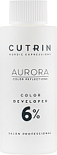 Perfumería y cosmética Oxidante profesional, 6% - Cutrin Aurora Color Developer