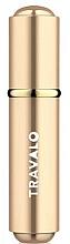 Perfumería y cosmética Atomizador recargable, vacío - Travalo Roma Gold