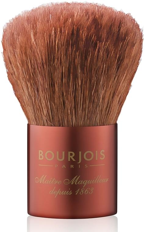 Brocha kabuki para maquillaje mineral en polvo, rostro y escote - Bourjois — imagen N1