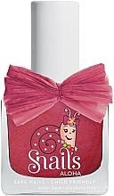 Perfumería y cosmética Esmalte de uñas infantil, lavable y no tóxico - Snails Aloha