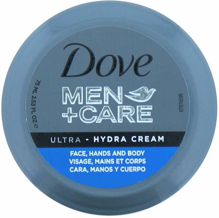 Crema hidratante para manos, cuerpo y rostro con glicerina - Dove Men + Care Ultra Hydra Cream