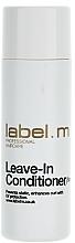 Perfumería y cosmética Acondicionador antiencrespamiento con extracto de ginseng y filtro UV - Label.m Leave-In Conditioner