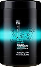 Perfumería y cosmética Mascarilla capilar reestructurante con queratina - Black Professional Line Keratin Protein Mask