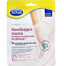 Perfumería y cosmética Mascarilla para pies con aceite de coco - Scholl Expert Care Foot Mask