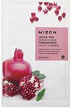 Perfumería y cosmética Mascarilla facial de tela con extracto de granada - Mizon Joyful Time Essence Mask Pomegranate