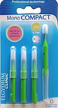 Perfumería y cosmética Cepillos interdentales muy largos 8-7mm, 4uds - Elgydium Clinic Monocompact Green