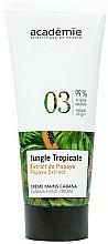 Perfumería y cosmética Crema de manos con extracto de papaya - Academie Jungle Tropicale Cabana Hand Cream