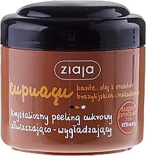 Perfumería y cosmética Exfoliante corporal de azúcar con macadamia, karité - Ziaja Sugar Body Scrub
