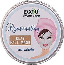 Perfumería y cosmética Mascarilla facial antiarrugas con arcilla blanca - Eco U Anti-Wrinkle Clay Face Mask