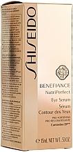 Sérum contorno de ojos antienvejecimiento - Shiseido Benefiance NutriPerfect Eye Serum — imagen N2