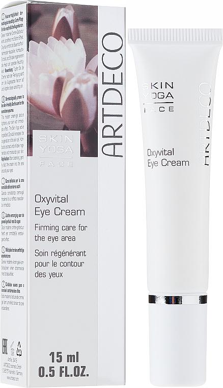 Crema regeneradora para contorno de ojos con manteca de karité y extracto de kombucha - Artdeco Oxyvital Eye Cream — imagen N1