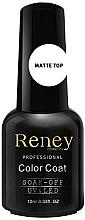 Perfumería y cosmética Top coat matificante, UV/LED - Reney Cosmetics Top Matte Velvet No Wipe