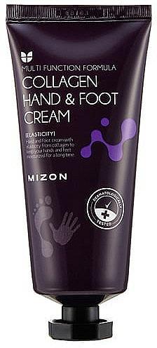 Crema de manos y pies con colágeno - Mizon Collagen Hand And Foot Cream