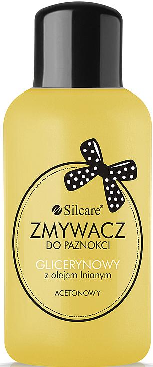Quitaesmalte de uñas con glicerina y aceite de lino - Silcare
