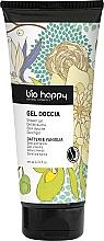 Perfumería y cosmética Gel de ducha con dátil y vainilla - Bio Happy Shower Gel Dates And Vanilla