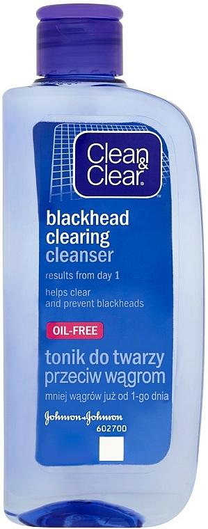 Loción de limpieza facial con ácido salicílico - Clean & Clear Blackhead Clearing Daily Lotion