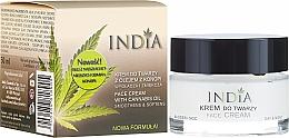 Perfumería y cosmética Crema facial con aceite de cáñamo - India Face Cream With Cannabis