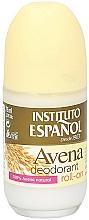 Perfumería y cosmética Desodorante roll-on con extracto de avena - Instituto Espanol Avena Deodorant Roll-on