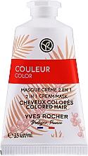 Perfumería y cosmética Mascarilla para cabello teñido con extracto de acai y agave - Yves Rocher Color Protection 2-In-1 Hair Mask
