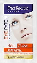 Perfumería y cosmética Parches de hidrogel para contorno de ojos con retinol y vitamina E - DAX Perfecta Eye Patch 45+