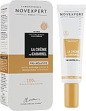 Perfumería y cosmética BB crema facial natural con aceite de coco y cacao - Novexpert The Caramel Cream Golden Glow