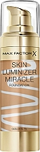 Perfumería y cosmética Base de maquillaje iluminadora de cobertura media - Max Factor Skin Luminizer Miracle Foundation