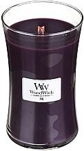 Perfumería y cosmética Vela aromática, higo - WoodWick Hourglass Candle Fig