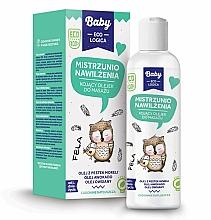 Perfumería y cosmética Aceite de masaje calmante a base de aguacate, avena, albaricoque - Baby EcoLogica Soothing Massage Oil