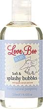 Perfumería y cosmética Espuma de baño con extracto de manzana y avena - Love Boo Baby Soft & Splashy Bubbles