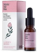 Perfumería y cosmética Sérum facial con agua de rosas y aceites de jojoba & almendras dulces - Make Me Bio Serum Garden Roses