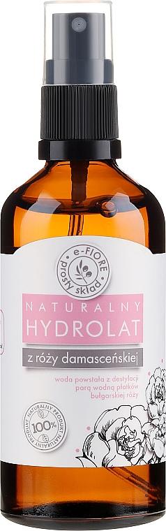 Hidrolato natural de rosa damascena - E-Fiore Hydrolat