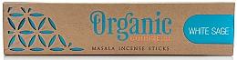 Perfumería y cosmética Varitas de incienso con aroma a salvia blanca - Song Of India Organic Goodness White Sage