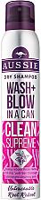 Perfumería y cosmética Champú seco con extracto de jojoba - Aussie Dry Shampoo Wash + Blow in a Can Clean Supreme