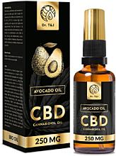 Perfumería y cosmética Aceite de aguacate natural Bio CBD 250mg - Dr. T&J Bio Oil