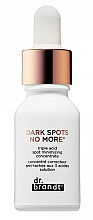 Perfumería y cosmética Concentrado facial de triple ácido antimanchas oscuras - Dr. Brandt Dark Sports No More Concentrate